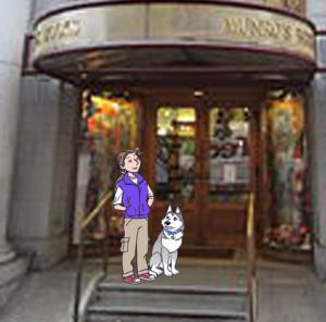 J & R at Munro's Books